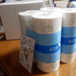 エラー猫のトイレ紙が三越から届く。。。。