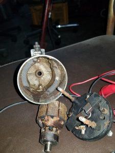 AIRホーンの修理1