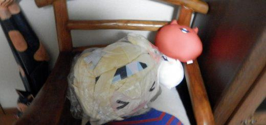 Bigカンビィ人形と浮き輪の組み合わせ