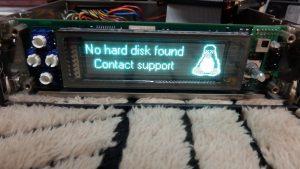 HDDが認識できていない